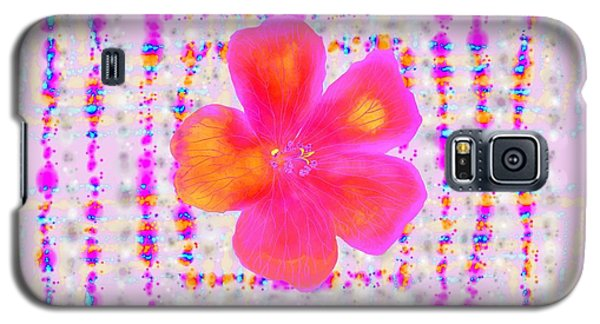 Galaxy S5 Case featuring the digital art Pink On Pink by Barbara Moignard