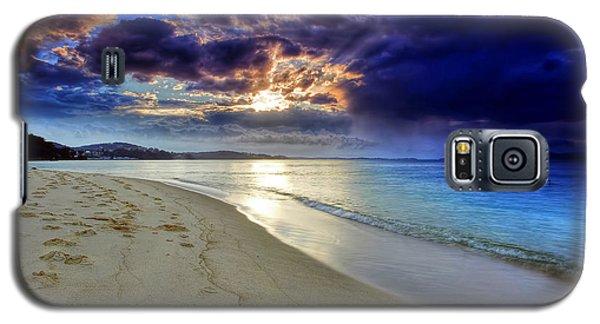 Port Stephens Sunset Galaxy S5 Case by Paul Svensen