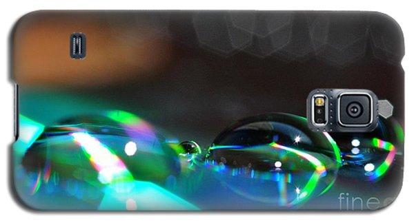 Rainbow Drops Galaxy S5 Case by Sylvie Leandre