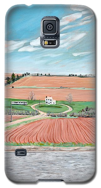 Red Soil On Prince Edward Island Galaxy S5 Case
