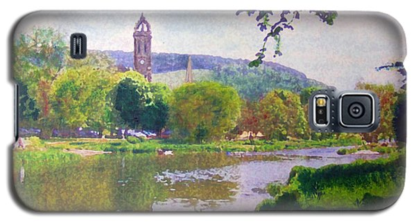 River Walk Reflections Peebles Galaxy S5 Case