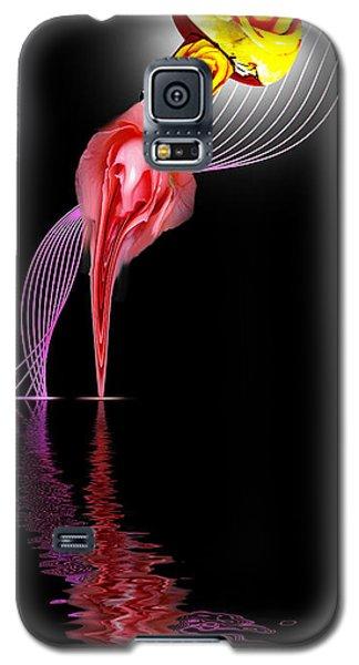 Rose In A Bottle Galaxy S5 Case
