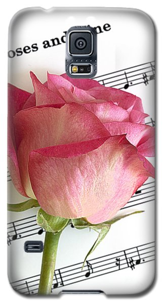 Roses And Wine Galaxy S5 Case