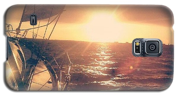 Scenic Galaxy S5 Case - Sailing Sunset by Dustin K Ryan