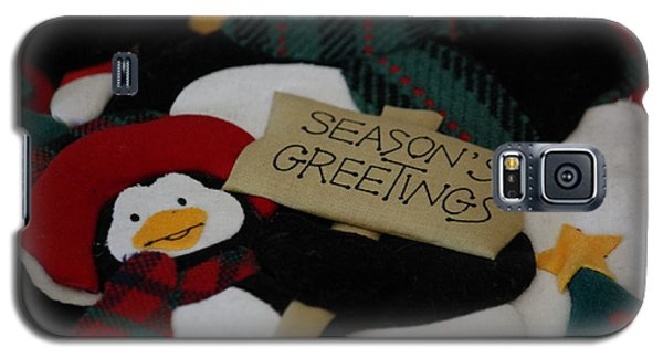 Galaxy S5 Case featuring the photograph Season's Greetings by Ivete Basso Photography