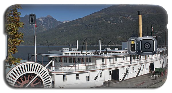 Galaxy S5 Case featuring the photograph Ss Moyie by Cathie Douglas