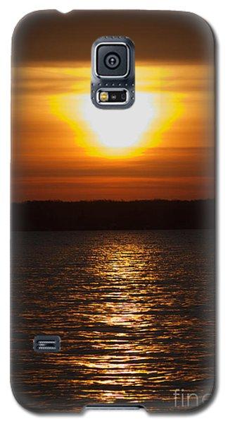 Galaxy S5 Case featuring the photograph Sunrise On Seneca Lake by William Norton