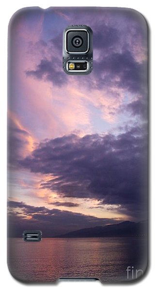 Galaxy S5 Case featuring the photograph Sunset At Messina by Kathleen Pio