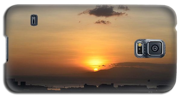 Sunset Upon The Ocean  Galaxy S5 Case