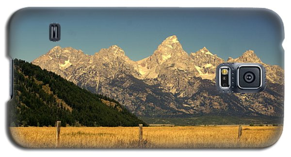 Galaxy S5 Case featuring the photograph Tetons 3 by Marty Koch