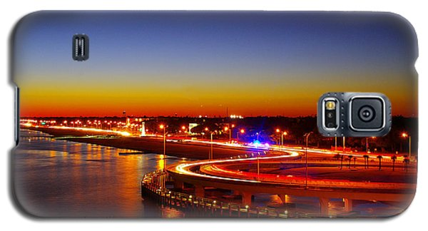 Galaxy S5 Case featuring the photograph The Beauty Of The Night by Brian Wright