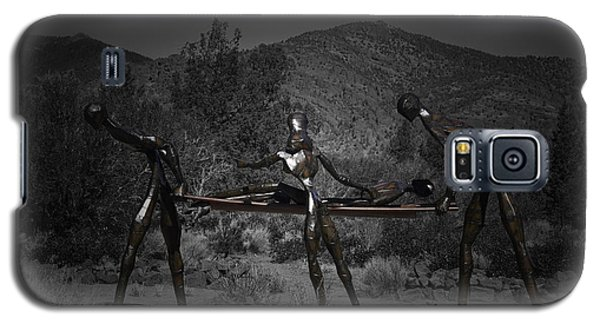 Galaxy S5 Case featuring the photograph The Nurses by Betty Depee