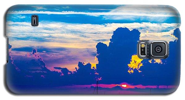 The Purple Sunset Galaxy S5 Case