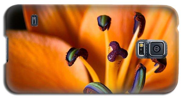 Tiger Lily Galaxy S5 Case