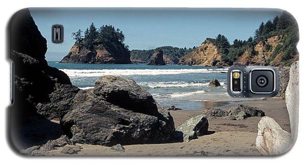 Galaxy S5 Case featuring the photograph Trinidad Beach by Sharon Elliott