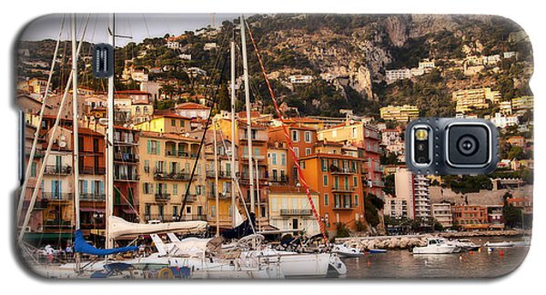 Galaxy S5 Case featuring the photograph Villefranche-sur-mer  by Steven Sparks