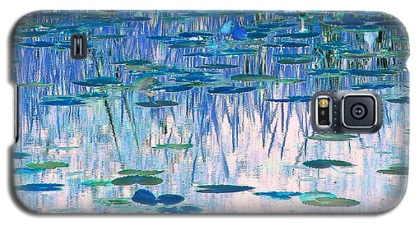Galaxy S5 Case featuring the photograph Water Lilies by Chris Anderson