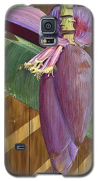 Galaxy S5 Case featuring the painting Wet by AnnaJo Vahle