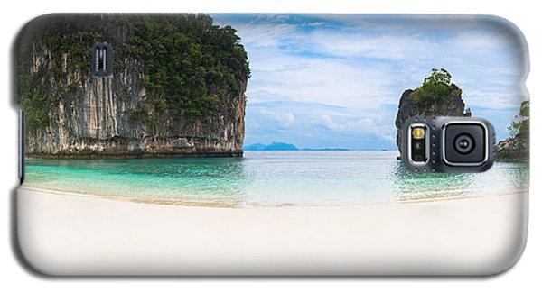 White Sandy Beach In Thailand Galaxy S5 Case