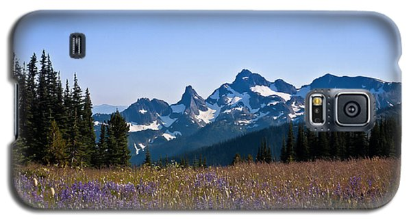 Wildflowers In The Cascades Galaxy S5 Case