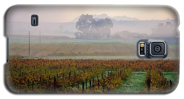 Galaxy S5 Case featuring the photograph Wine Field by Werner Lehmann