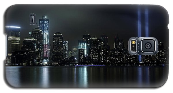 World Trade Center Memorial Lights Galaxy S5 Case