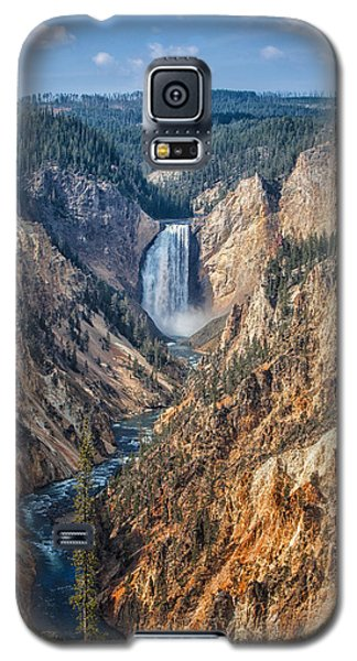 Yellowstone Lower Falls Galaxy S5 Case