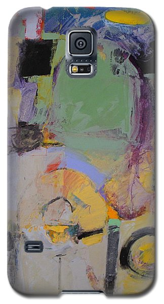 Galaxy S5 Case featuring the painting 10th Street Bass Hole by Cliff Spohn