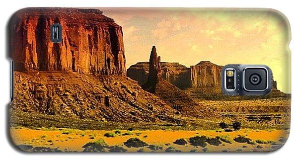 Cool Galaxy S5 Case - Monument Valley by Luisa Azzolini