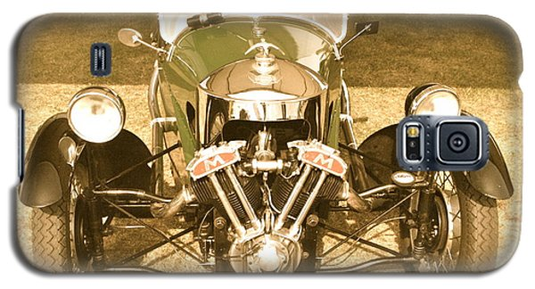 Galaxy S5 Case featuring the photograph 1930s Three Wheel Morgan by John Colley