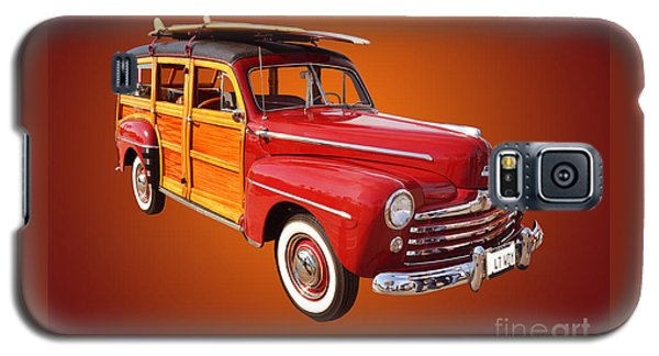 1947 Woody Galaxy S5 Case by Jim Carrell