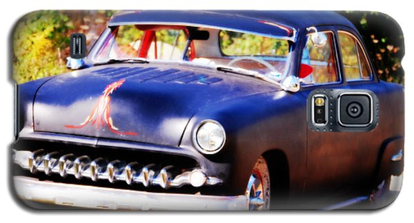 Galaxy S5 Case featuring the photograph 1950 Ford  Vintage by Peggy Franz