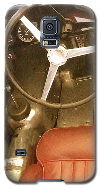 Galaxy S5 Case featuring the photograph 1952 Aston Martin Db3 Cockpit by John Colley