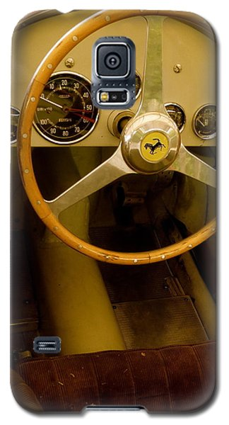 Galaxy S5 Case featuring the photograph 1952 Ferrari 500 625 Cockpit by John Colley