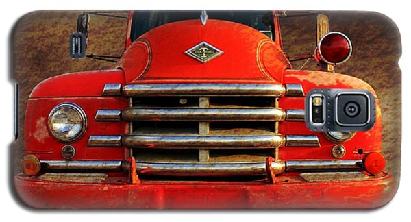1955 Diamond T Grille - The Cadillac Of Trucks Galaxy S5 Case