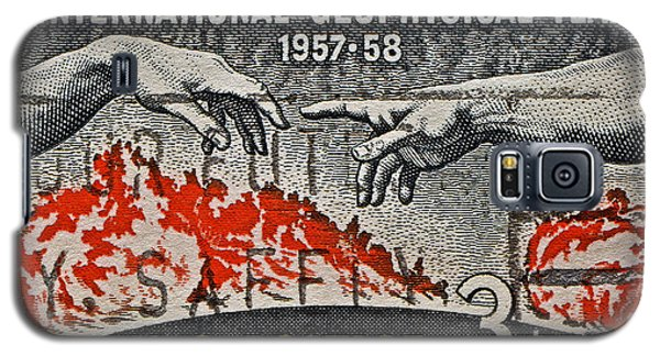 1957-1958 International Geophysical Year Stamp Galaxy S5 Case