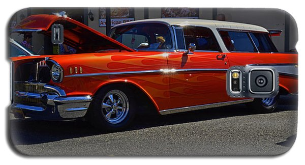 Galaxy S5 Case featuring the photograph 1957 Belair Wagon by Tikvah's Hope