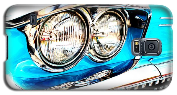 Galaxy S5 Case featuring the digital art 1958 Buick by Tony Cooper