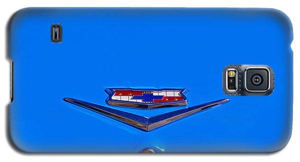 1960 Chevy Bel Air Trunk Emblem Galaxy S5 Case by Bill Owen