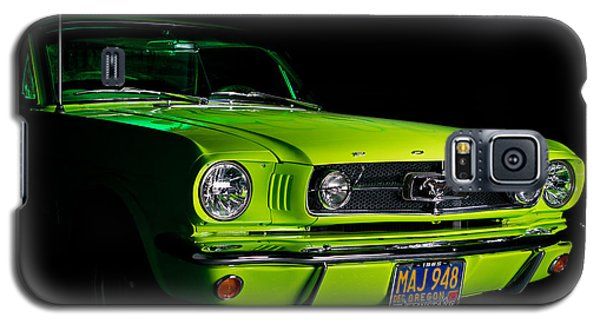 Galaxy S5 Case featuring the photograph 1965 Ford Mustang by Jim Boardman