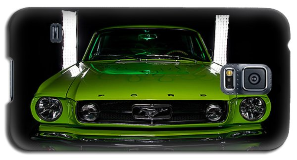 Galaxy S5 Case featuring the photograph 1965 Mustang by Jim Boardman