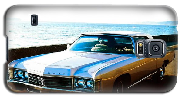 Galaxy S5 Case featuring the photograph 1971 Chevrolet Impala Convertible by Sadie Reneau