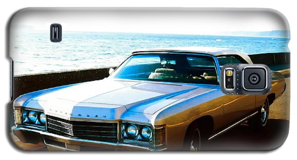 1971 Chevrolet Impala Convertible Galaxy S5 Case by Sadie Reneau