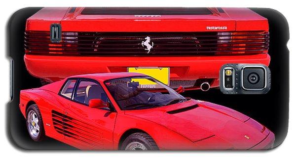1990 Ferrari Testarossa Galaxy S5 Case by Jim Carrell