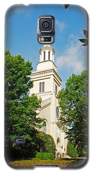 Galaxy S5 Case featuring the photograph 1st Presbyterian Church by Kay Lovingood