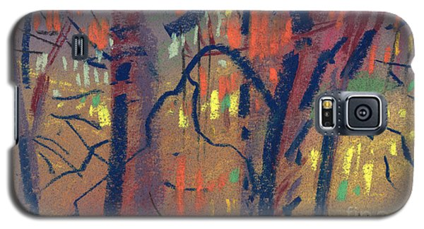Galaxy S5 Case featuring the painting Autumn Color by Donald Maier