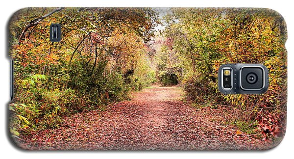 Galaxy S5 Case featuring the photograph Autumn Trail by Rick Friedle