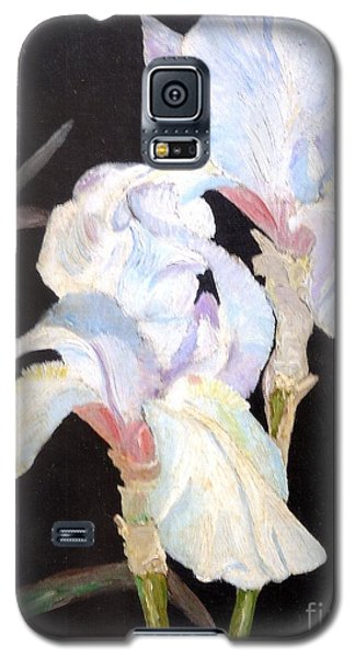 Blue Iris Galaxy S5 Case