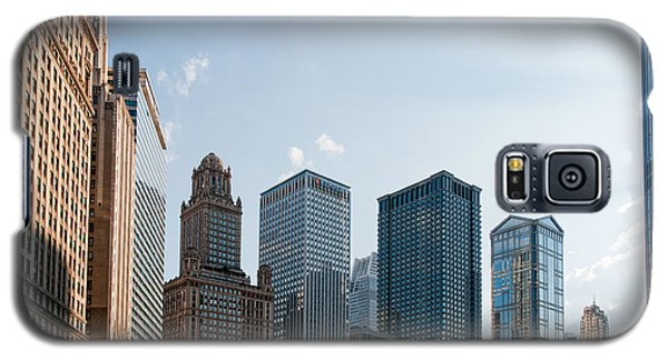 Chicago City Center Galaxy S5 Case by Carol Ailles