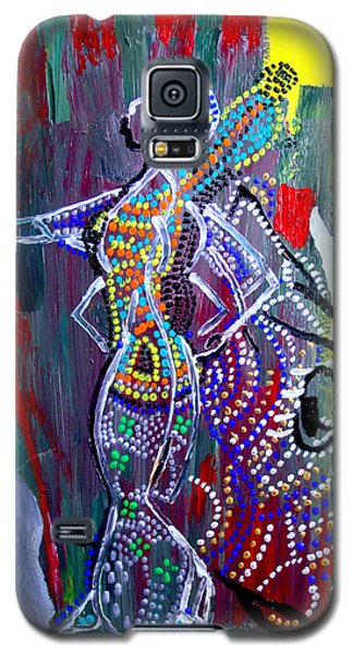 Dinka Lady - South Sudan Galaxy S5 Case